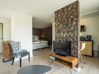 Photo for Nice apartment for two. Sauna, terrace, pool, garden.