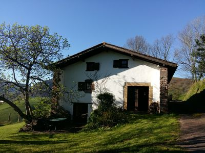 Photo for GITE ITOLA, large detached and secluded house on the heights of BIDARRAY