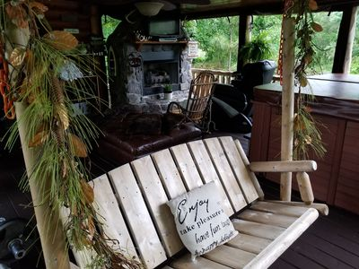 🎄ISOLATION VACATION! Majestic Lakefront Hideaway / Dock & Access to ATV Trails❇