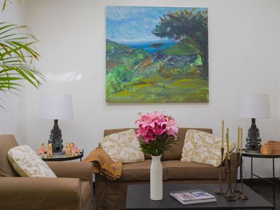 Photo for Chic House on Quiet, Flat Centro Street-2 blocks to Jardin
