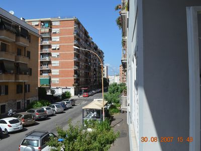 Photo for Rome apartment, with balcony, center, and 150 m. from the subway.