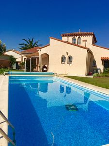 Photo for Villa with pool near the Golf and St Cyprien beaches