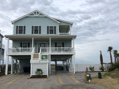 Photo for BRAND NEW in January 2019 with georgeous views of the marsh and the ocean!