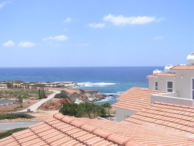 Photo for Sea Caves Villa, Hot tub on Roof terrace, Wi-Fi, UKTV, Air-Con, 100m from Med