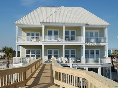Photo for AVAILABLE: 9/14-9/21; October - December: Luxury Beachfront Home with Large Deck