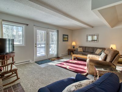 Photo for NEW LISTING! Cozy townhome w/ fireplace easy access to outdoor adventure