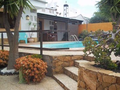 Photo for House in the center of Tahiche with Internet, Pool, Garden, Balcony (970419)