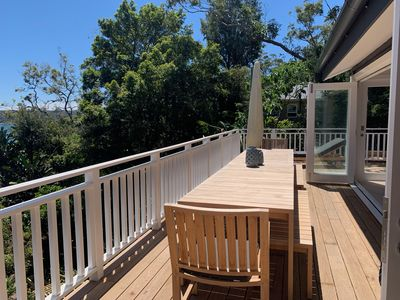 Photo for Newly renovated Palm Beach house with stunning Pittwater views