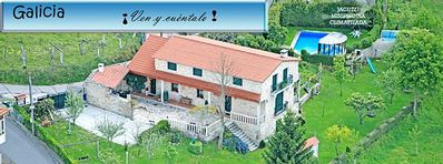 Photo for Os Carballos Rural Cottage for 10 people