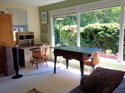 Photo for Large 300sf private room light filled quiet garden home 5 min to BART & WC dwntn