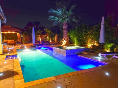 Photo for OASIS ESTATE Resort Style Private Pool/Spa, 6 BR