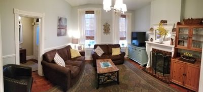 Photo for Lancaster City home with fenced yard and off street parking, walk to downtown