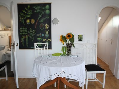 Photo for Schnuckeliges apartment with separate kitchen, bathroom, jacuzzi, shower and bathtub.