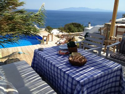 Photo for Ideal for family holidays and big groups of friends. Free wi-fi and private pool