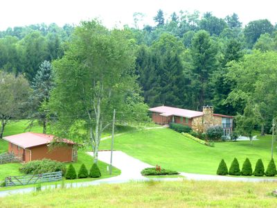 Photo for The Lodge @ Mayberry on 18 Acres And A Lake/Pond on The Blue Ridge Parkway