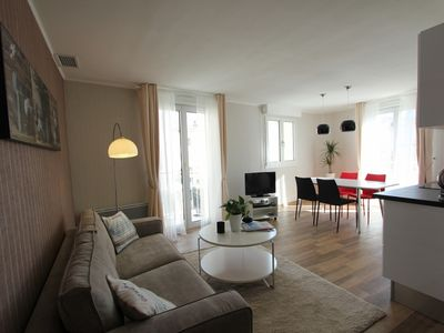 Photo for CANNES !! TWO BEDROOMS RENOVATED 100M FROM THE CROISETTE AND 20M GRAY D'ALBION