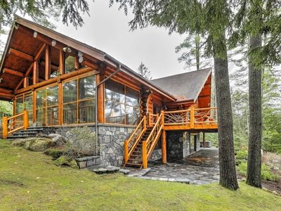 Photo for Lakefront North Creek Cabin w/Sauna, Dock & Kayaks