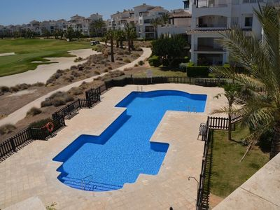 Photo for Cozy Apartment in La Torre Golf Resort with Beautiful Garden