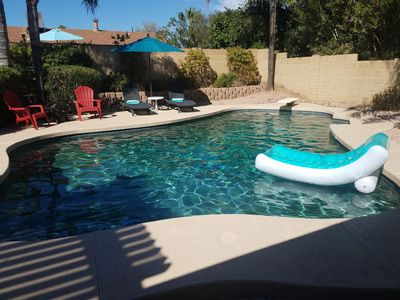 Photo for Scottsdale Kierland home w/Pool, 3 Bdrs, 2 Baths, modern and ready for you!