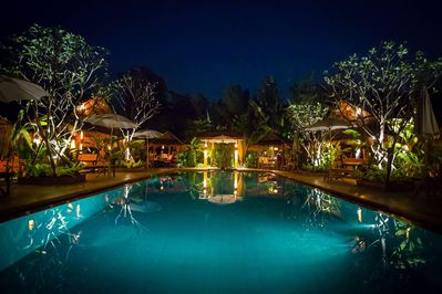 Our Largest Salt Water Pool