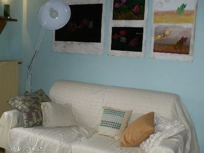 Photo for Bright and pleasant apartment, 3 rooms, sea view has SEAS