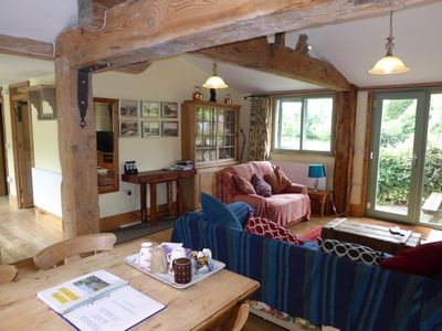 Photo for Hursey Gate Stables: A cosy & rustic 2 bedroom cottage, king size and twin beds