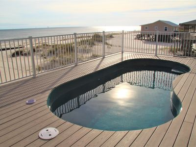 Photo for STUNNING BEACHFRONT w/ PRIVATE POOL!