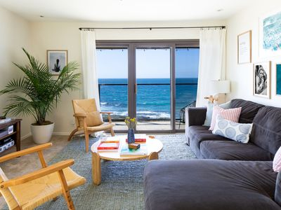 Photo for Chic Beachside Flat in La Jolla | Stunning Front Ocean Views ❤︎ by AvantStay