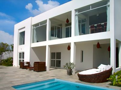 Photo for Spectacular villa with sea views in Pipa, Brazil