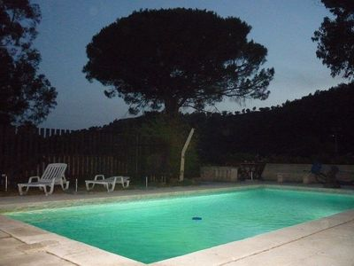 Photo for Les Amandiers, 3-room house, max. 6 people, with large pool