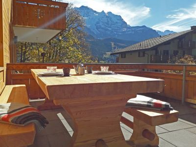 Photo for Apartment Bergfrieden in Wengen - 4 persons, 2 bedrooms