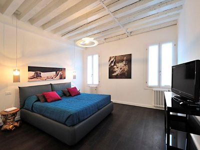 Photo for Venice Art, welcoming, bright apartment located in the heart of authentic Venice, free wi-fi