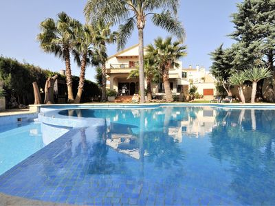 Photo for CAN GUAL- Villa in INCA. 8 people+2children. Private Pool. BBQ -00065- - Free Wifi