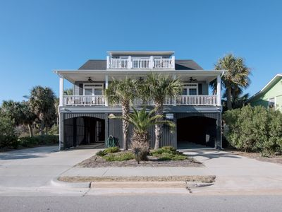 Photo for Palmetto Tides - Private Pool; Ocean Views & Easy Beach Access