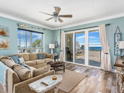 Photo for Gorgeous Mexico Beach, FL condo with 3 bedrooms and 3 full bathrooms!