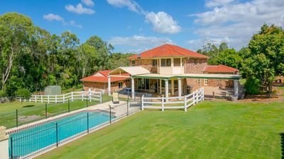 A beautiful home in an acreage estate, half way between Brisbane & Gold Coast.