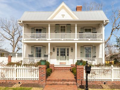 Photo for A true one of a kind home!  Luxury retreat in historic downtown Swansboro