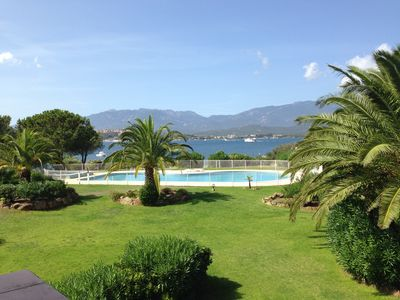 Photo for WATERFRONT VILLA IN PORTO VECCHIO WITH SWIMMING POOL AND TENNIS IN THE RESIDENCE