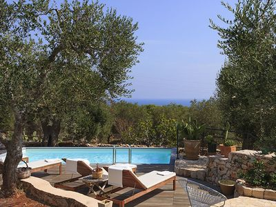 Photo for Novaglie Villa, Sleeps 8 with Pool, Air Con and WiFi