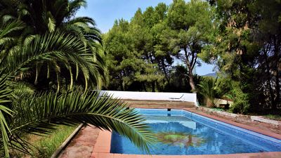 Photo for Private bungalow in ecological farm 30 minutes from Valencia and beaches.