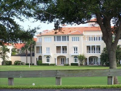 Our condo overlooking 18th fairway. Located on 2nd floor, near elevator.