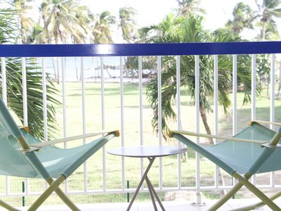 Photo for Nice comfortable studio with sea view and direct access to the sea