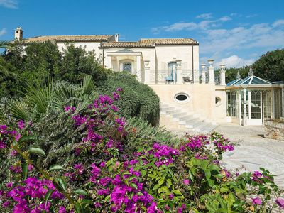 Photo for Villa Gemma in eastern Sicily, near the sea, with private pool, 4 bedrooms, 8 sleeps