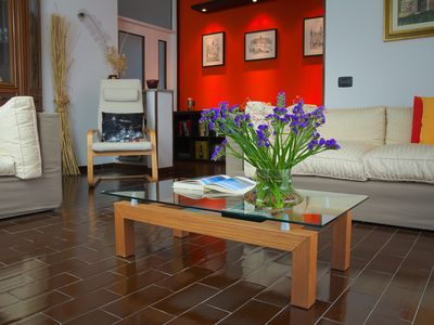 Photo for 2BR Apartment Vacation Rental in Dormelletto, Piemonte