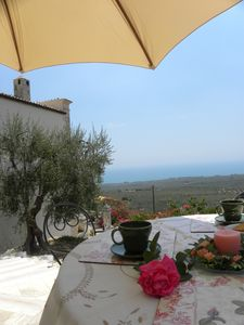 Photo for XIXth century VILLA BASSO in Gargano- holiday rental overlooking the sea
