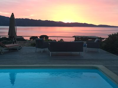 Photo for Villa StFlo - 8 pers - Pool, large terrace with exceptional views of the Gulf