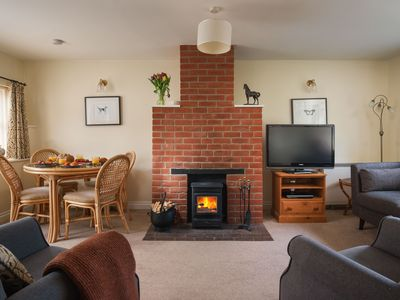 Photo for Owl Cottage is a recently converted 17th century stone barn at Champernhayes.