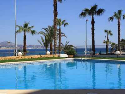 Photo for Nice 2 bedroom apartment in building seafront, Calpe