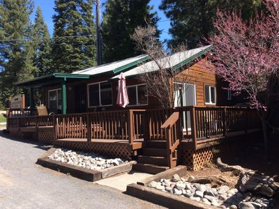 Photo for Beautiful 2 bedroom / 2 bath Lakefront cabin with boat dock. NO pets allowed
