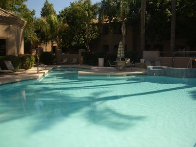 Photo for Poolside! Prime North Scottsdale - Walk to shops, dining and trails.